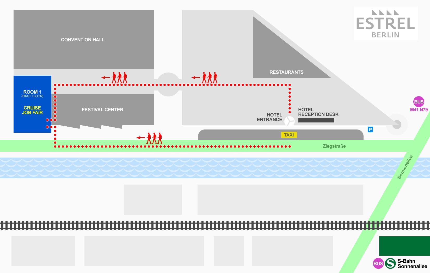 Cruise Job Fair Berlin Directions - Berlin map 2017