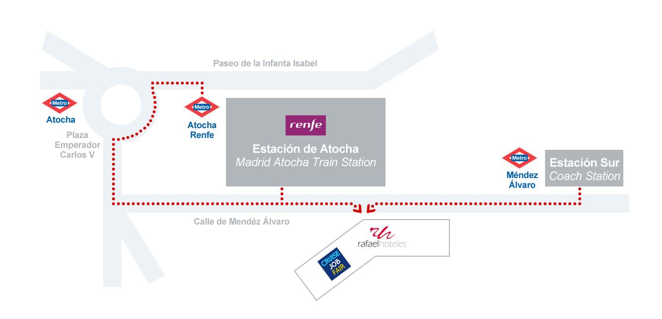Location within Madrid