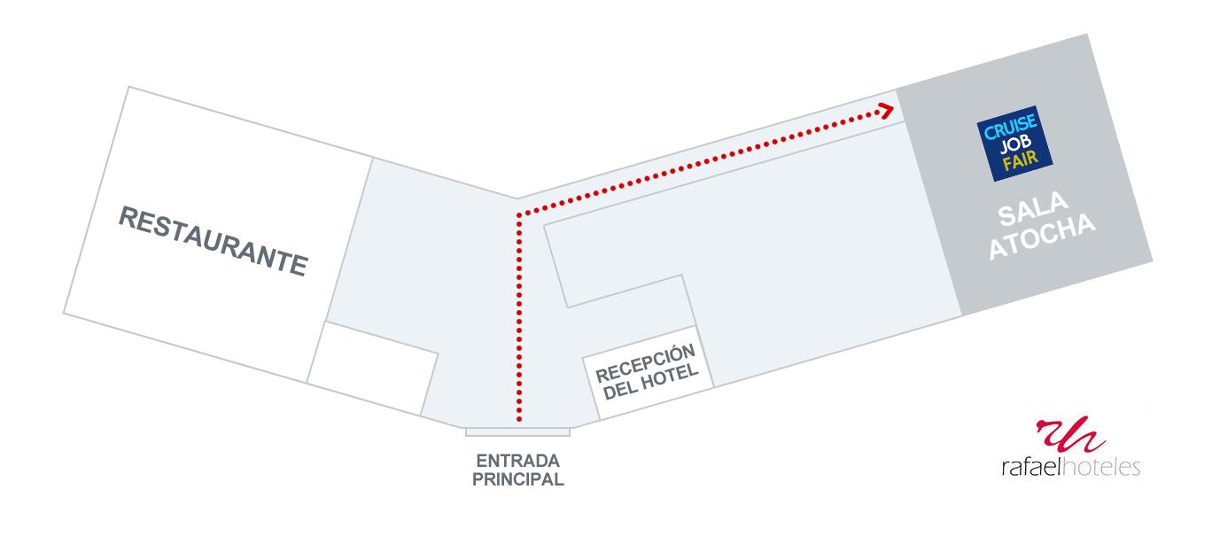 Rafaelhoteles floor plan